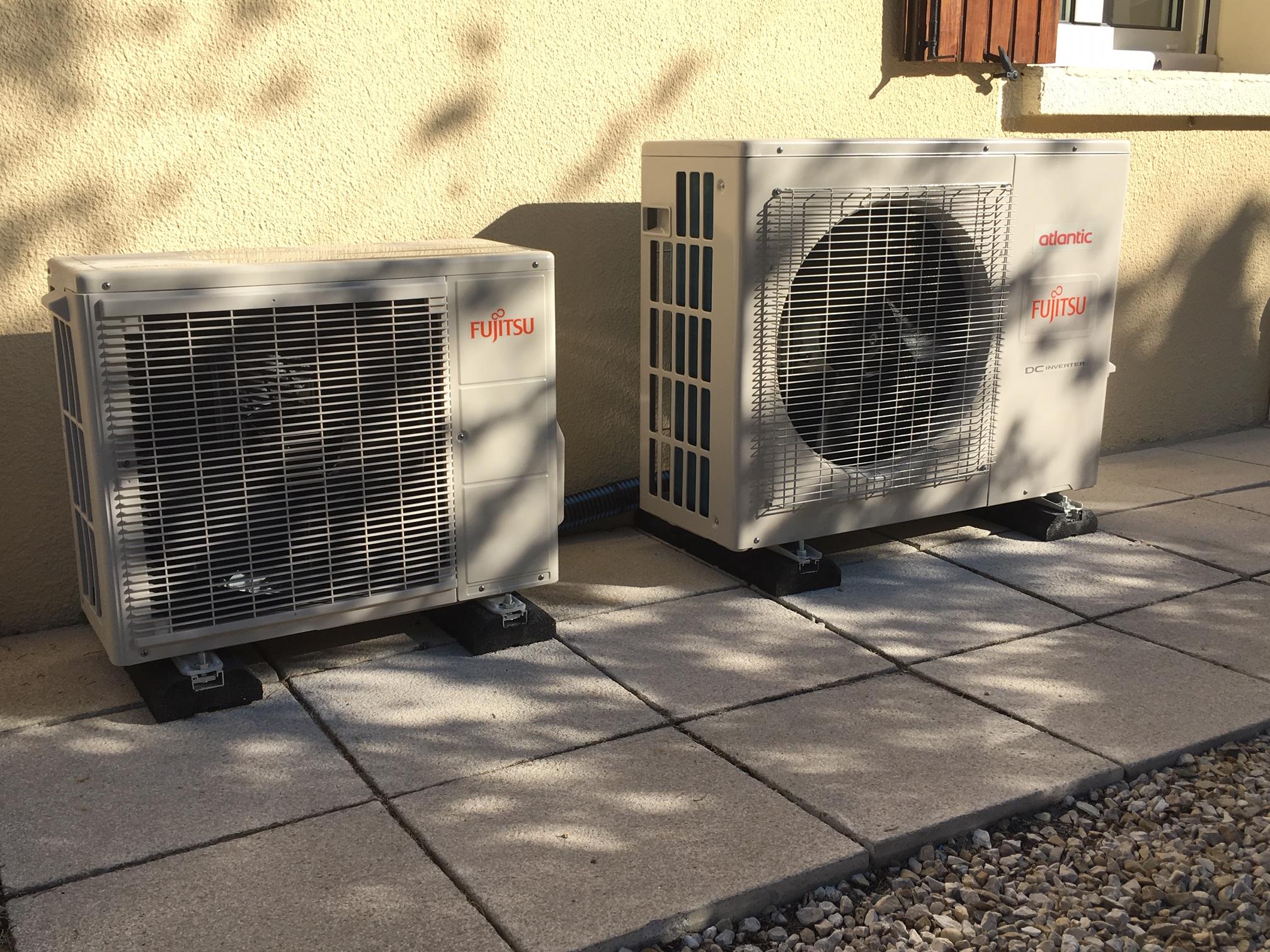Pose et installation de climatisation reversible Nimes - Carré Sud Rénovation - Nages-et-Sollorgues (30)