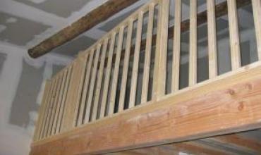 Création d'une mezzanine en bois