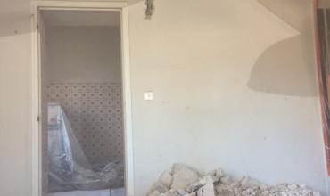 Création d'une ouverture dans un mur de pierre