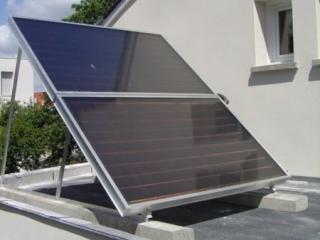 Panneaux solaires nécessaires à l'installation d'un chauffe-eau solaire individuel