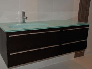 Meuble vasque moderne