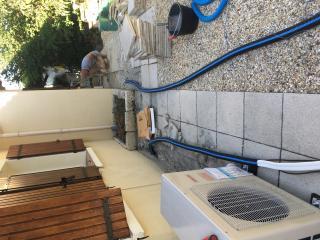 Travaux d'installation de climatisation réversible - Gard - Nages-et-Sollorgues - Carré Sud