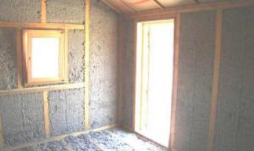 L'isolation en panneaux de ouate de cellulose