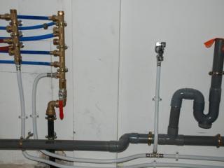 Travaux de raccordement de plomberie