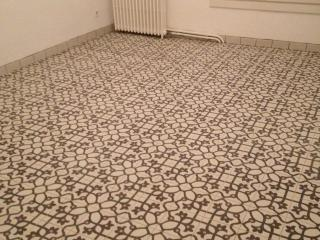Pose de carreaux ciment et carrelage type carreaux de for Pose carreaux de ciment
