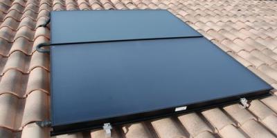 Installation de chauffe-eau solaire individuel autovidangeable