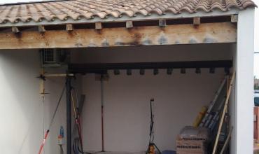 Aménagement d'une terrasse couverte