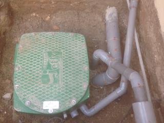 Installation de station de relevage des eaux usées