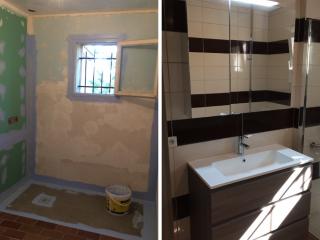 Aménagement d'une salle de bain accessible PMR dans le Gard