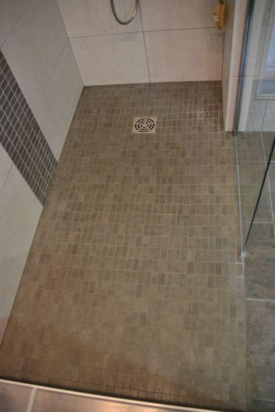 Douche l 39 italienne r novation salle de bain n mes montpellier - Tarif douche italienne ...